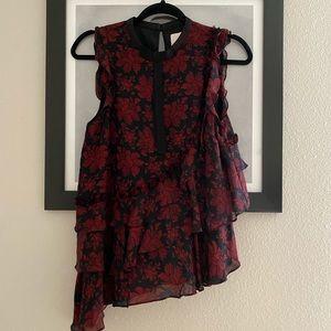 cinq a sept sleeveless blouse
